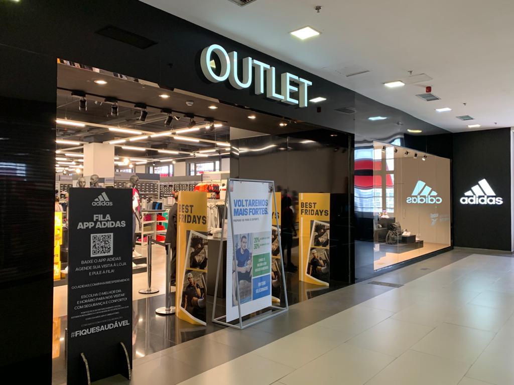 tracciare camuffare Abbandono  Shopping Light lança mega loja da Adidas Outlet - ABRASCE